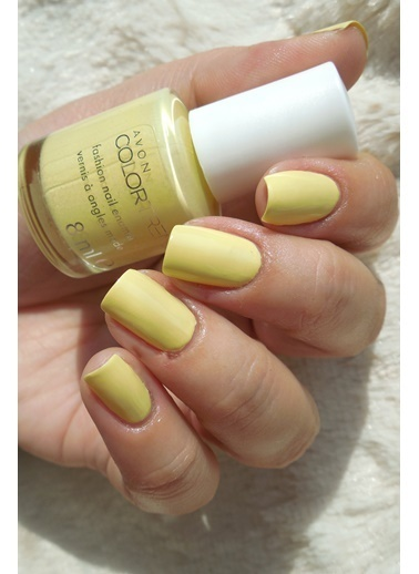 Avon Color Trend Oje 8 Ml Limoncello Sarı